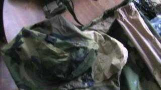 Diamond Brand Marine Combat Tent Review, Combat Tent Review, Tent Rain Test