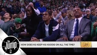 Paul Pierce on Kevin Garnett's hoodie: I think he tapes it on his head | The Jump | ESPN
