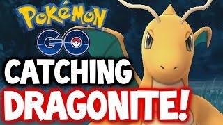 Pokemon GO ★ CATCHING DRAGONITE! ★ LEVEL 28 ★ RAREST POKÉMON IN POKÉMON GO! ★ DRAGONITE 2.7K+ CP!!!