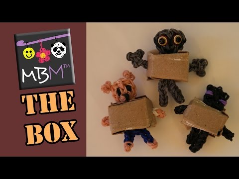 The BoxTrolls - Toilet Paper Roll Box for Rainbow Loom Figures