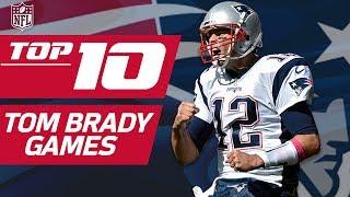 Top 10 Tom Brady Games... So Far | NFL Films