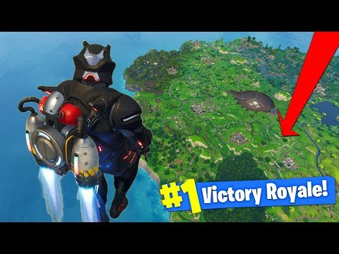 WHAT HAPPENS When You JETPACK AT *MAX HEIGHT* In Fortnite Battle Royale!