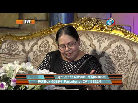 The Light of the Nations Rev. Dr. Shalini Pallil 12-08-2020