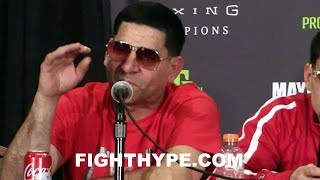 ANGEL GARCIA ON FIRE; REACTS TO DANNY GARCIA'S KNOCKOUT OF BRANDON RIOS