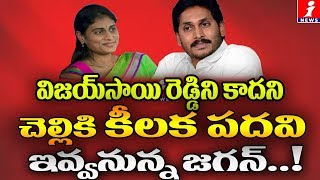 Jagan to make YS Sharmila active with key post..