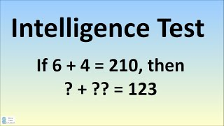 Can You Solve This Intelligence Test? Viral Facebook Puzzle