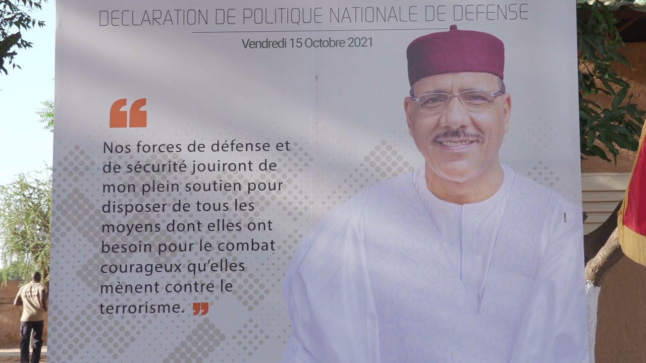 Résumé en haoussa de la Déclaration de Politique Nationale de Défense par le Président Bazoum