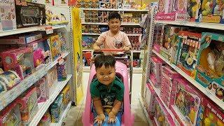 Trò Chơi Bé Vui Siêu Thị ❤ ChiChi ToysReview TV ❤ Đồ Chơi Trẻ Em Baby Toys Kids Songs Supermarket