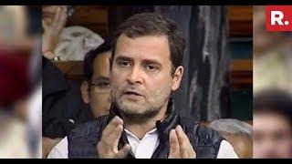 Demolished by Nirmala on Rafale, Rahul Cancels Press Meet..
