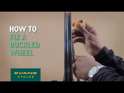 How to fix a buckled wheel