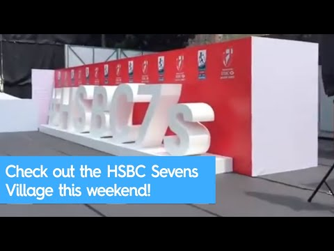 Check out the HSBC Sevens Village 2017