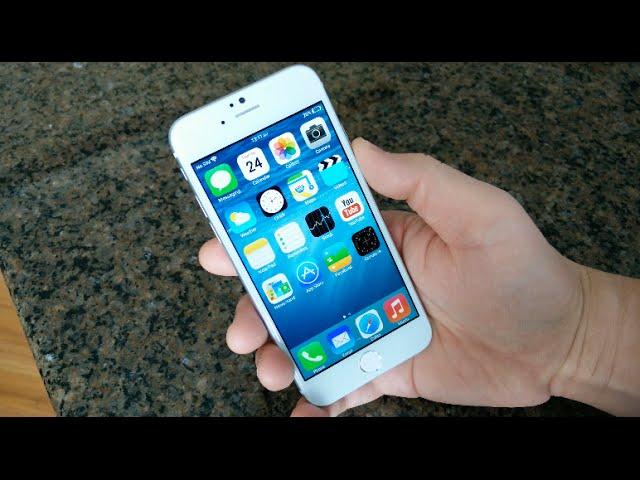 Une copie de iPhone 6 en vidéo