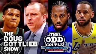 Chris Broussard & Doug Gottlieb talk Lakers vs. Clippers, Tom Thibodeau and Giannis Antetokounmpo