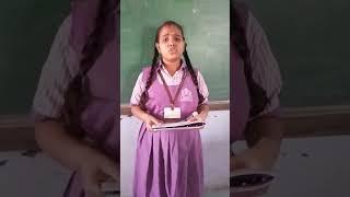 Beautiful Gujarati poem recited by my student Neelam Kushvah