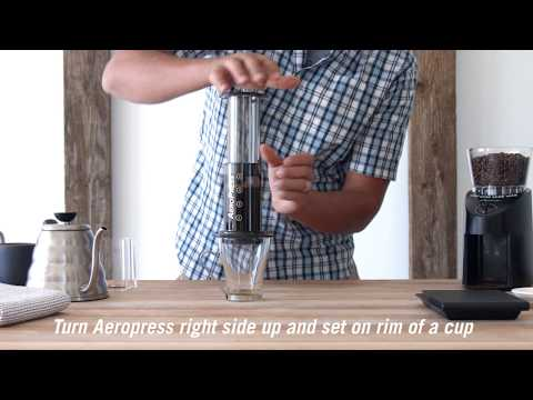 How to Brew Coffee at Home Using an Aeropress Coffee Maker