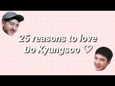 25 reasons to love do kyungsoo of exo ♡