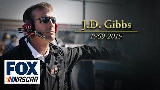 NASCAR drivers & Joe Gibbs remember JD Gibbs, who died from neurological disease | NASCAR on FOX