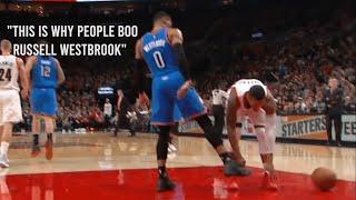Damian Lillard vs Russell Westbrook: A War of Pettiness