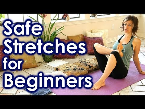how to stretch for beginners safe stretches for full body