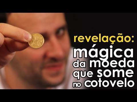 Baixar Revelação da mágica da moeda que some no cotovelo (mágica fácil)