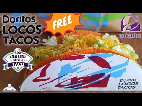 Taco Bell® FREE Doritos® Locos Taco! | Steal a Base Steal a Taco! | 2019