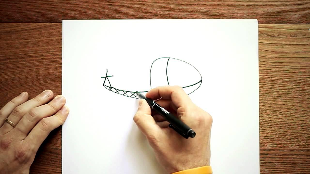 Disegni a matita facili disegnare un elicottero youtube for Disegni facili da disegnare a matita