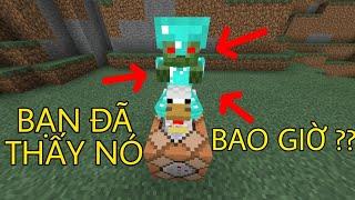5 Điều Mà 100,01% Người Chơi Minecraft Chưa Bao Giờ Thấy 1 Lần Nào !!!