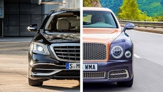 Mercedes-Maybach S 650 VS Bentley Mulsanne EWB