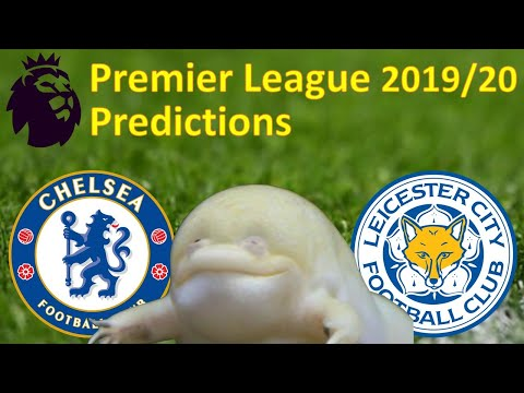 Premier League predictions 2019/20 | Chelsea vs Leicester City | Gameweek 2 | Guessing Frog