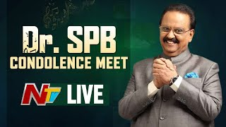 SP Balasubrahmanyam condolence meet- LIVE..