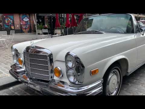 video 1971 Mercedes-Benz 280SE 3.5 Cabriolet