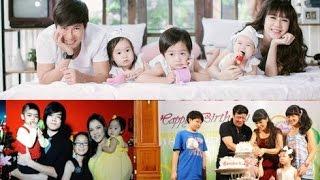 3 gia đình nghệ sĩ đông con nhất showbiz Việt