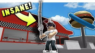 *NEW* AWESOME KNIFE SIMULATOR GAME ON ROBLOX!