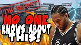 SECRET NBA 2K19 BEST BUILD NO ONE IS TALKING ABOUT! THE MOST HIDDEN BEST BUILD 2K19 HAS!
