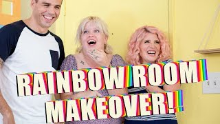 Rainbow Room Makeover! | Mr. Kate