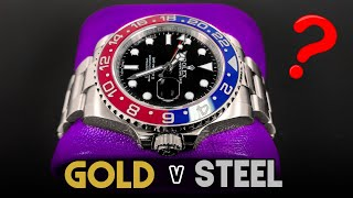 Stainless Steel vs White Gold Watches - Does it Really Matter?