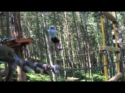 SkyTrek Adventure Park (BC Attraction) 2013!
