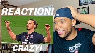 FIRST TIME REACTION to Zlatan Ibrahimovic ● Craziest Skills Ever ● Impossible Goals