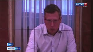 Губернатор Александр Бурков заслушал отчёт глав Большеуковского и Павлоградского районов