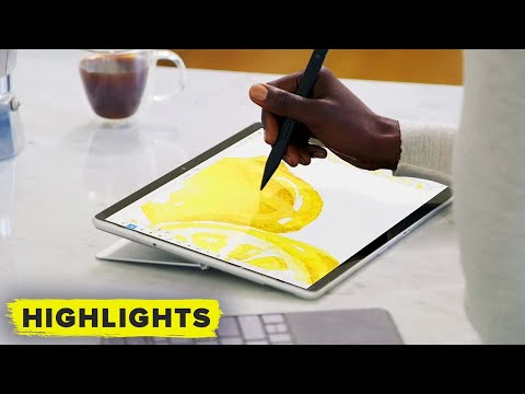 Surface Pro 8! Watch the full reveal (with new Surface Pen)