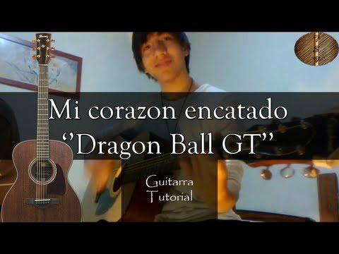 Mi corazon encantado ''Dragon Ball GT'' - Guitarra Tutorial (Facil y rapido) ''Seabroth''