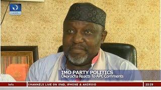Imo Party Politics: Okorocha Reacts to APC Comments