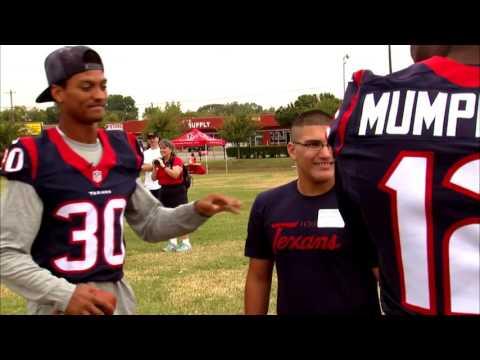 Houston Texans 2015 Hometown Huddle