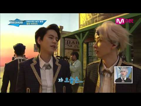SUPER JUNIOR - MAMACITA MV Shooting Behind The Scene [140916]