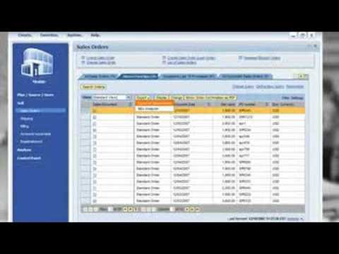 SAP Business All-in-One Overview