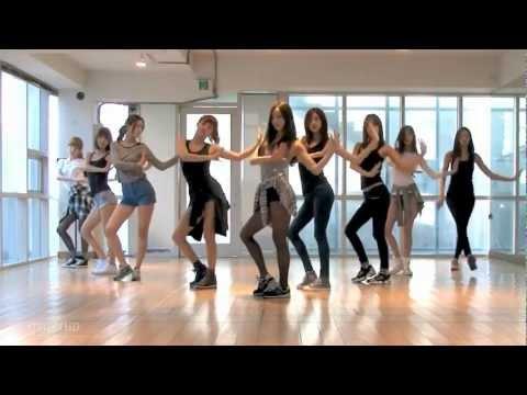 Nine Muses - Dolls mirrored Dance Practice