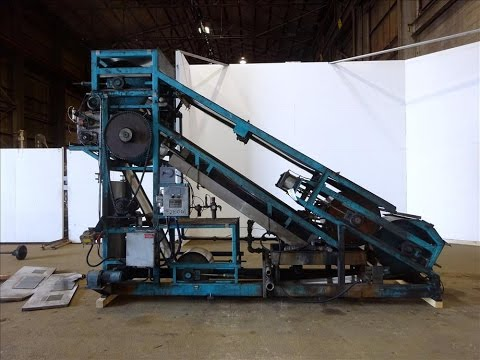 Used- Berndorf Belt Systems Incline Double Belt Cooler - stock # 48270001