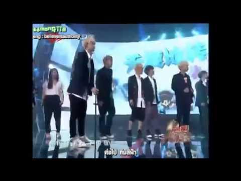 [TH sub] 130818 EXO @ Love Big Concert แข่งวาดรูป