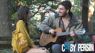Homeless Man Picks Up Girls With Amazing Voice!