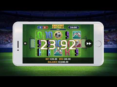 Knock-out Football, la nuova slot di Habanero